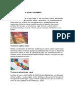 Tecnicas y Diseño Del Crayon Pastel