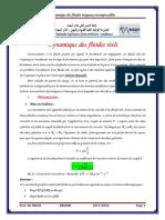 Microsoft Word - Dynamique des fluides réels
