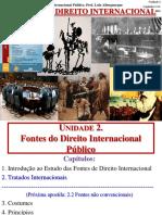 DIP 2-1 - Fontes I - Tratados 2016-2