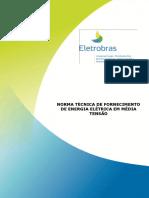 Norma Tecnica NDEE01 - Fornecimento de Energia Eletrica Em Media Tensao