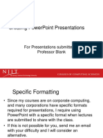 Creating Powerpoint