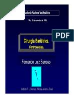 Cirurgia Bariátrica Visão Crítica 44 p