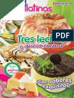 Irresistibles Gelatinas Especial 19 - Tres Leches y Queso Crema
