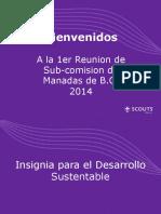 Presentacion Desarrollo Sustentable Manada