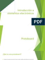 Introduccion a Elementos Electronicos
