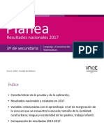Plane a Secundaria 2017