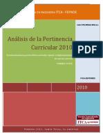Analisis de la Pertinencia Curricular 2010.pdf