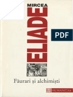Mircea Eliade-Faurari Si Alchimisti-Humanitas (1996)