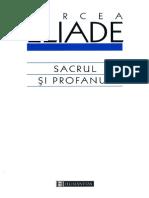 Mircea Eliade-Sacrul Şi Profanul-Editura Humanitas (2000)