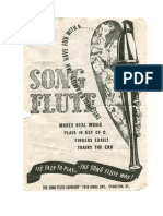Fitchhorn Song Flute
