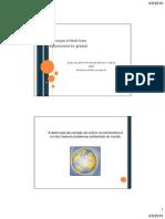 Alterações do clima e os resultados para a população