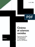 Moran Cine y Ciencias Sociales
