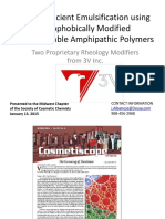 Associative Thickeners for Emulsions