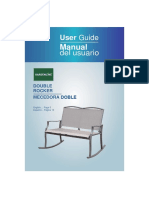 Gardenline Double Rocker User Manual
