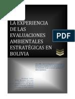 Experiencias EAE en Bolivia