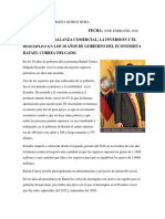 Analisis Rafael Correa