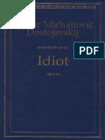Idiot - Fjodor Michajlovic Dostojevskij