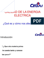 Calidad de La Energía Eléctrica