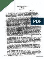 Clergy Letter Regarding Feit Investigation