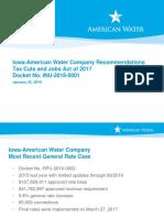 Iowa American Water Presentation
