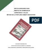 Diseno Pavimentos Metodo Pca