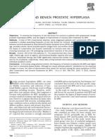 Journal - Nocturia and Benign Prostatic Hyperplasia