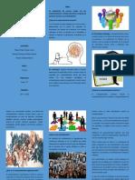 tríptico proyecto de sociología