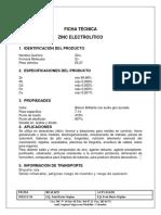 Zinc Electrolitico
