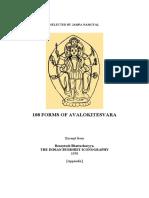 108 Forms of Avalokiteshvara - Unknown