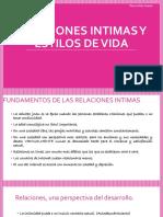 Relaciones Intimas y Estilos de Vida(Expo)
