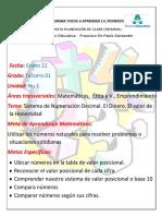 Planeación Matemáticas Grado Tercero (1)