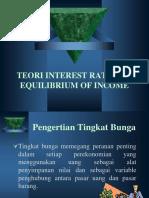 332373817 Teori Interest Rate Dan Equilibrium of Income