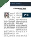 Actualidad Académica ¿Prisión Preventiva Tasada, Dr. Jorge Segismundo Ritter Diaz.