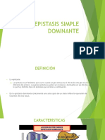 Epistasis Simple Dominante