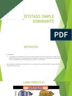 Epistasis Simple Dominante