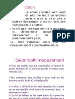 Metrology Gear Measurement