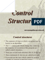 Control Structures Ppt