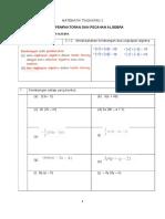 Bab 2 Pemfaktoran Dan Pecahan Algebra