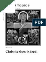 March 2008 Trinity Topics Newsletter, Trinity Toledo Episcopal Church