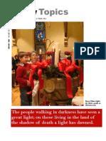 January 2008 Trinity Topics Newsletter, Trinity Toledo Episcopal Church