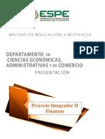94 Proyecto Integrador II Finanzas