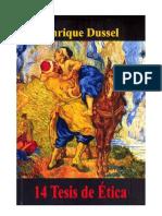 Enrique Dussel 14 tesis de ética