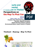 Srisuwan Janya - Green Courts and Environmental Protection in Thailand - Perspectives on the Map Ta Phut Case