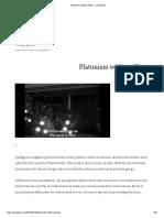 Platonism Without Plato – Sam[ ]Zdat