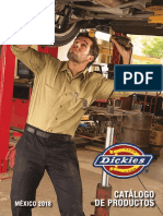 Catalogo Dickies 2018