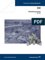 Grundfos Submersible Dewatering Pump - DW