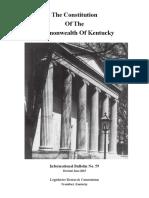 KENTUCKY CONSTITUTION 2015.pdf