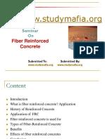 Civil Fiber-reinforced Concrete Ppt