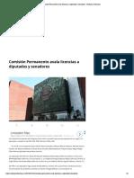 24-01-18 Comisión Permanente avala licencias a diputados y senadores - Noticias Chihuahua