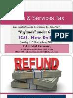 Refunds Under GST